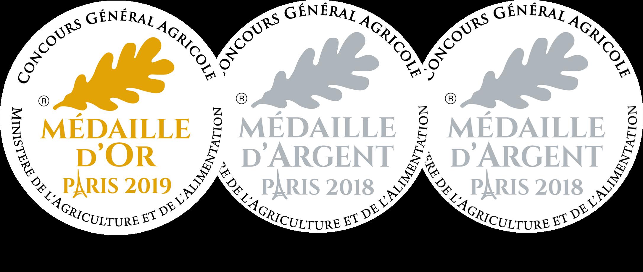 Médailles Huile d'Olive Papillon